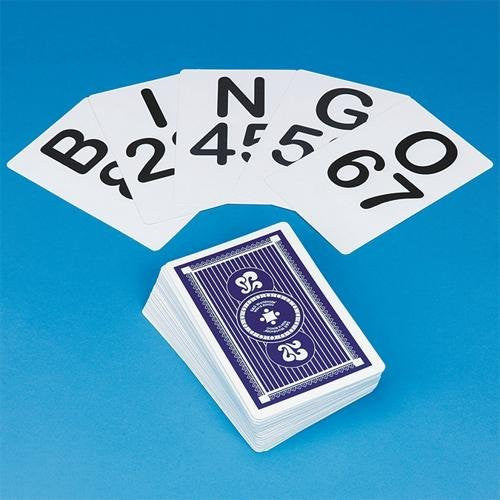 "Jumbo Bingo Calling Cards, 5-3/4""H x 3-3/4""W (Set of 75)"