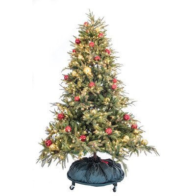 TreeKeeper PRO Decorated Tree Storage Bag w/ Rolling Stand