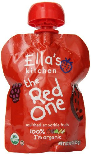 ELLA`S KITCHEN Smoothie Fruits The Red One - 3 oz