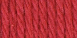 Lily Sugar'n Cream Yarn Solids Country Red