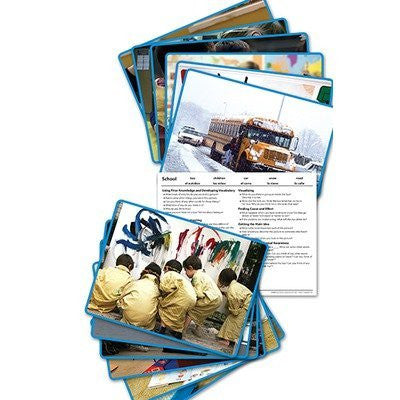 School Early Literacy Comprehension Cards