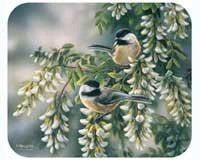 Chickadees Mouse Pad