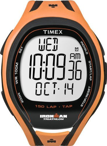 Men's Ironman Tap Sleek 150 Lap Orange Watch