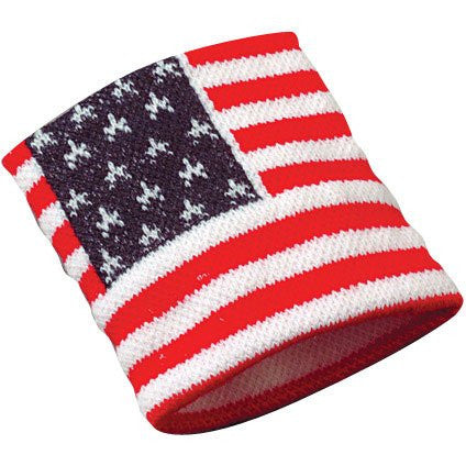 USA FLAG WRISTBANDS