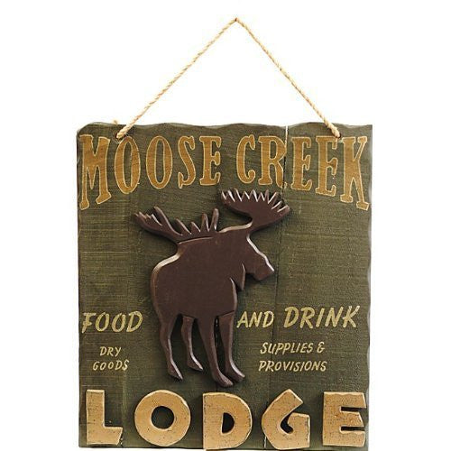 MOOSE CREEK LODGE SIGN