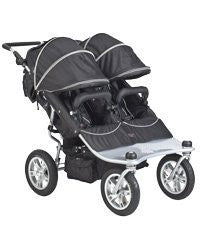 EX Twin Tri Mode Strollers - Raven
