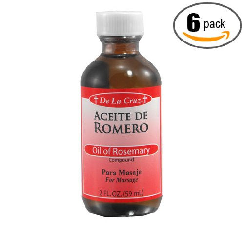 De La Cruz Oil of Rosemary (compound) 2 oz