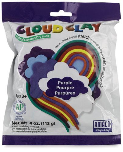 Cloud Clay Purple 4 oz
