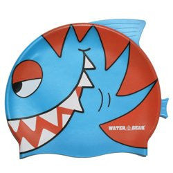 Water Gear Critter Cap (Blue Piranha)