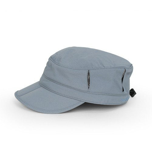 Sun Tripper Cap, Chambray, Large