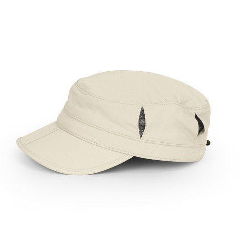 Sun Tripper Cap, Cream, Large