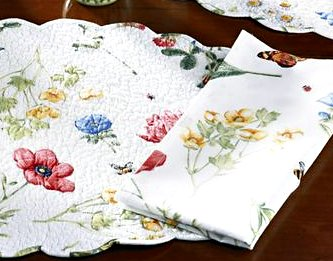 Wildflowers Kitchen Napkins Set
