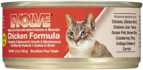 EVOLVE CANNED CAT FOOD (Chicken, 5.5oz)