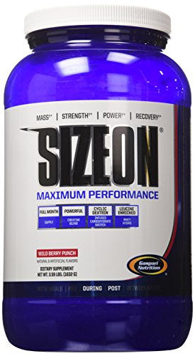 Gaspari Nutrition Size On Max Performance