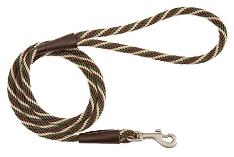Mendota Products Snap Leash, Woodlands, 1/2-Inch x 6-Feet