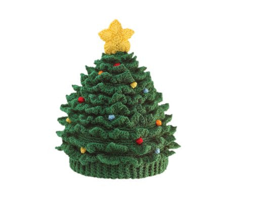Kids' Christmas Tree Hat, Large (6-12 Month)