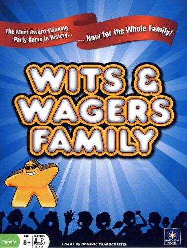 WITS & WAGERS FAMILY EDITION NSG