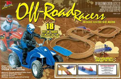 Off-Road Racers ATV Electric Slot Car Race Set