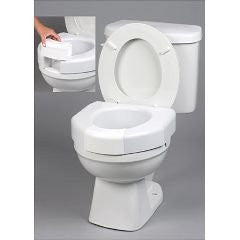 Elevated Toilet Seat w/ Closed Front Option