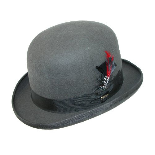 Scala Derby Hat (Charcoal / X-Large)