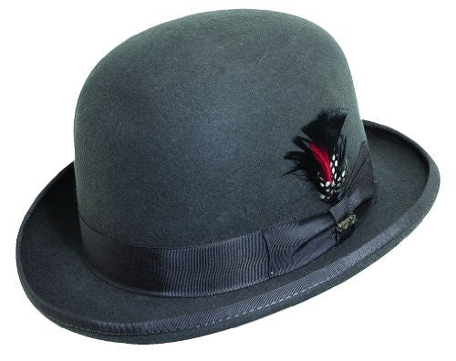 Scala Derby Hat (Charcoal / Large)