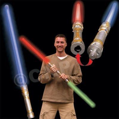"54"" Light Up Dual Saber 7 Function"