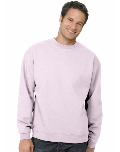 Hanes ComfortBlend Long Sleeve Fleece Crew - p160 (Pale Pink / XXX-Large)