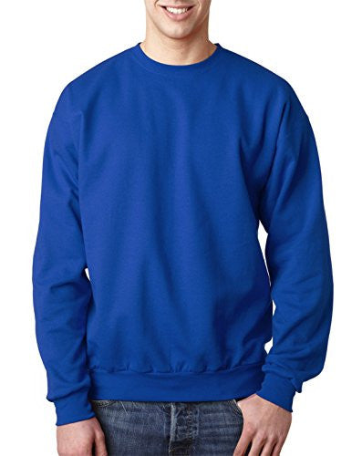 Hanes ComfortBlend Long Sleeve Fleece Crew - p160 (Deep Royal / XX-Large)