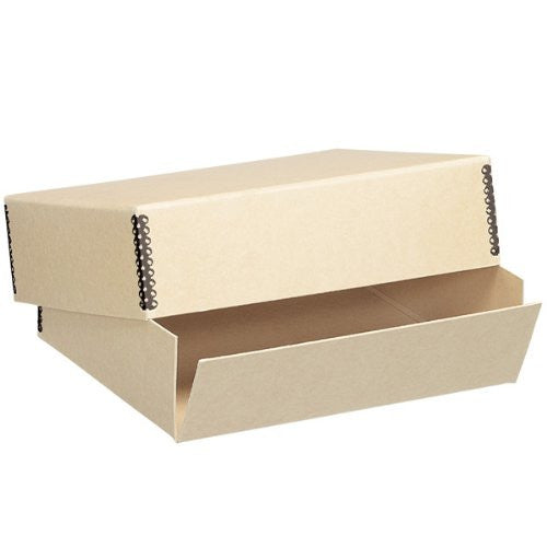 "Tan Museum Storage Box, Holds 20"" x 24"""
