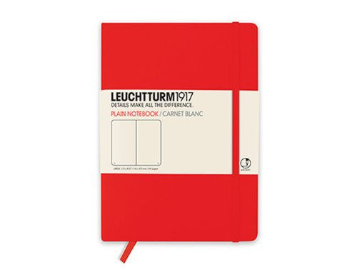 LEUCHTTURM LARGE BOOK PLAIN RED