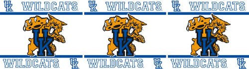 WALL BORDER Kentucky Wildcats - Color Multi - Size 0,5x15