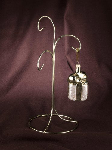 Brass Three Arm Ornament Stand