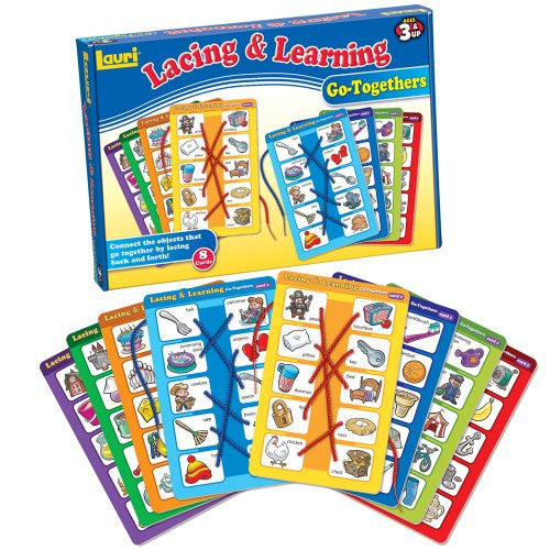 Lauri Toys Lacing and Learning Go-Togethers