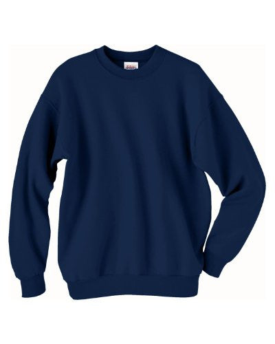Hanes ComfortBlend Long Sleeve Fleece Crew - p160 (Navy / Small)
