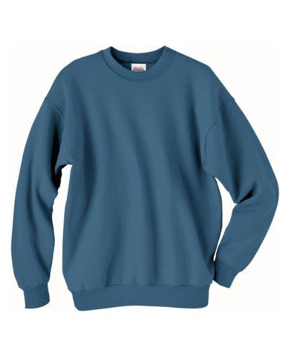 Hanes ComfortBlend Long Sleeve Fleece Crew - p160 (Denim Blue / XXX-Large)