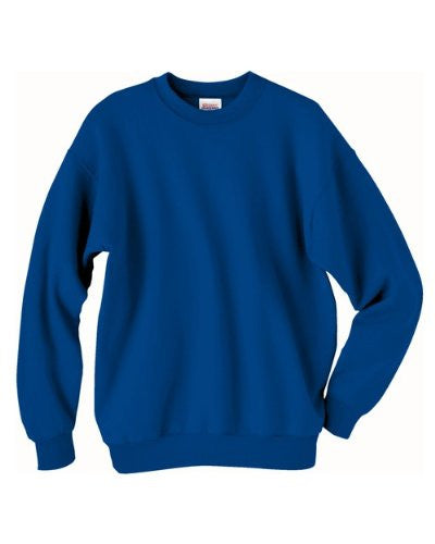 Hanes ComfortBlend Long Sleeve Fleece Crew - p160 (Deep Royal / XXX-Large)