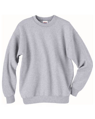 Hanes ComfortBlend Long Sleeve Fleece Crew - p160 (Ash / Small)