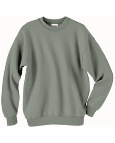 Hanes ComfortBlend Long Sleeve Fleece Crew - p160 (STONEWASH GREEN / X-Large)