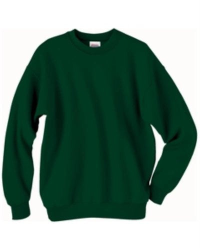 Hanes ComfortBlend Long Sleeve Fleece Crew - p160 (Deep Forest / XX-Large)