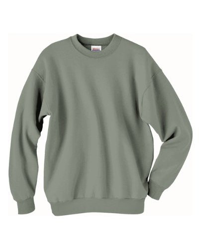 Hanes ComfortBlend Long Sleeve Fleece Crew - p160 (STONEWASH GREEN / Medium)