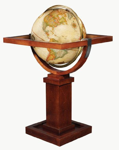Replogle Globes Wright Globe, Antique Ocean, 16-Inch Diameter