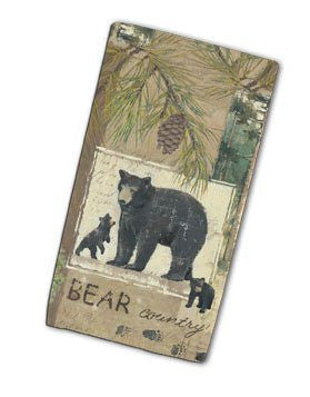 WILDERNESS TRAIL, BEAR TERRY TOWEL