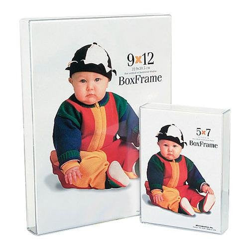 Box Frame: Clear, 5x7