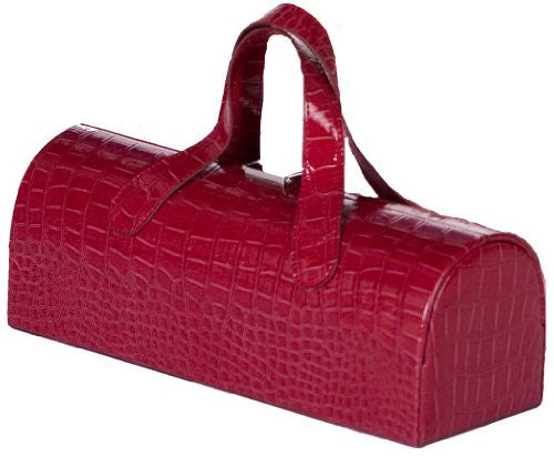 Carlotta Clutch Wine Bottle Tote (Color: Merlot)