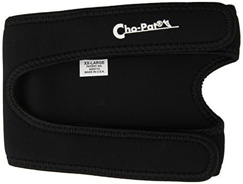 "Cho-Pat Dual Action Knee Strap - Black / XX-Large (20""-22"")"