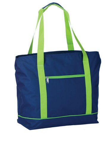 Picnic Plus Lido 2 in 1 Cooler Tote Bag (Color: Navy)