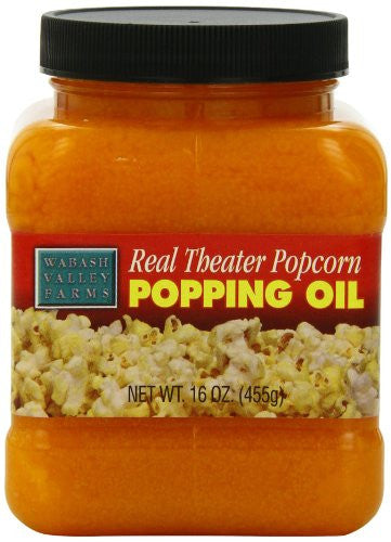 Real Theater Popcorn Popping Oil, 16.0 oz (Pack of 3)