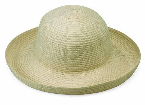 Wallaroo Hat Company Women's Sydney Woven Poly Braid Hat (Ivory / Adjustable)