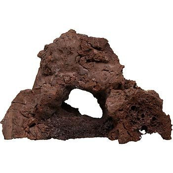 California Aquarium Supply North American Pet RockGarden Small Sculptured Lava