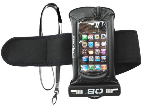 Black Pro-Sport Waterproof MP3 Case with Sports Arm Strap
